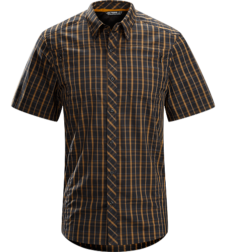 Ridgeline Shirt SS Men's Lightweight, wrinkle resistant short-sleeved shirt