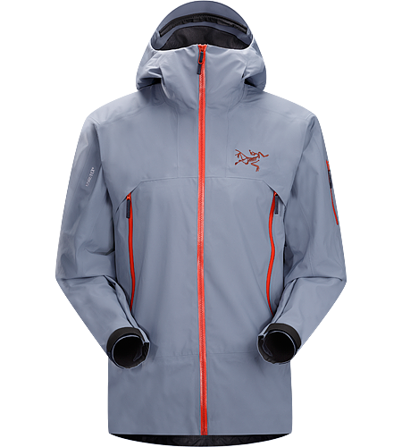 Sabre Jacket Men's Redesigned with enhanced GORE-TEX® fabric with a softer face and Slide 'n Loc snap system. Waterproof and windproof GORE-TEX® jacket, designed for on-area riding and skiing