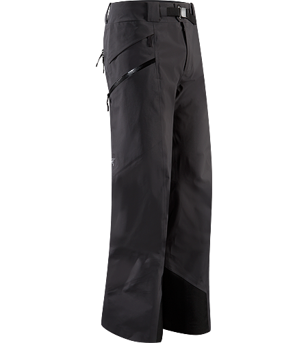 Sabre Pant Men's Built for riders/skiers, a lightly insulated, waterproof, GORE-TEX® pant with a Slide 'n Loc snap system to attach the jacket to pants.