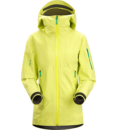 Sentinel Jacket $^Women's^$ Relaxed fitting, waterproof, breathable GORE-TEX® jacket with helmet compatible Storm Hood™ and a Slide 'n Loc™ snap system links the integrated powder skirt to pants in deep snow.