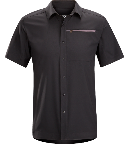Skyline Shirt SS Men's Super light, breathable shirt with a standard button collar and a soft hand, perfect for warm, summer days.