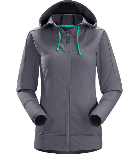 Solita Hoody Women's Moisture-wicking, go-anywhere hoody; great for warming up or cooling down.