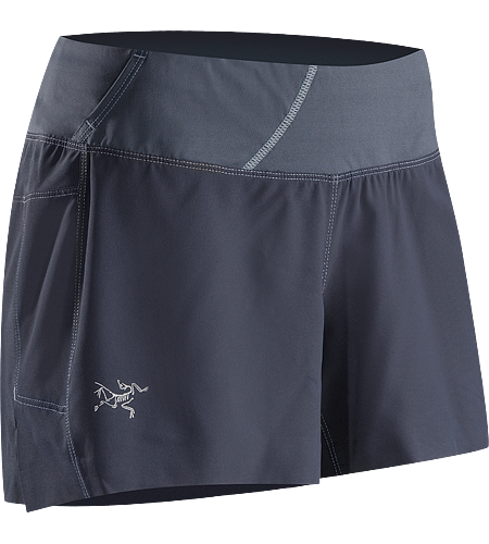 Solita Short Women's Lightweight, versatile short with an inner boxer-length mesh liner and stretch-woven waistband to enhance comfort and freedom of movement.