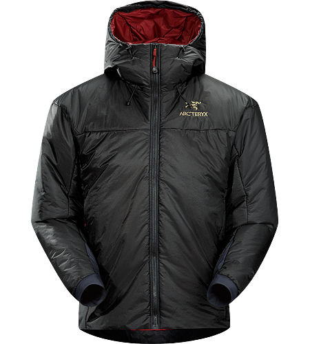 Solo Hoody Men's Compressible, packable, cold weather insulated parka with ThermaTek™ insulation.