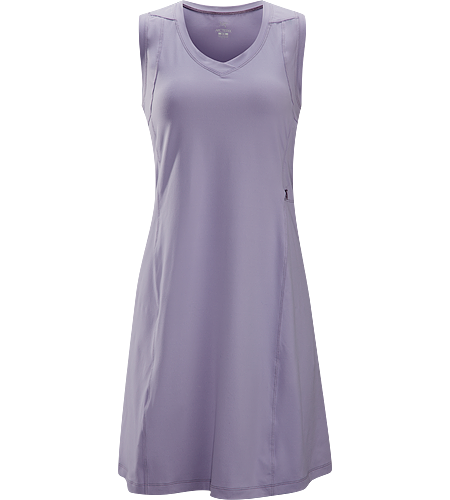 Soltera Dress Women's Lightweight, breathable, sleeveless dress; ideal for travel adventures in warmer climates