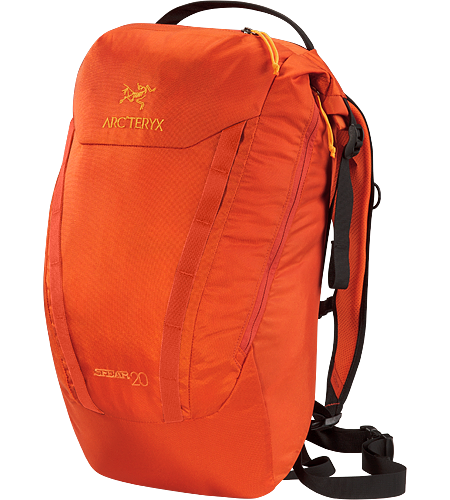 Spear 20 RollTop™ opening daypack designed for use either in an urban environment, or light trail usage.