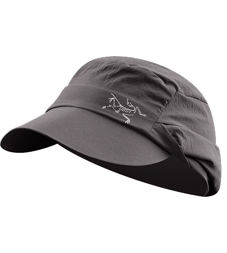 Spiro Cap Lightweight sun hat with extra large brim and a stowable back flap for optional sun protection