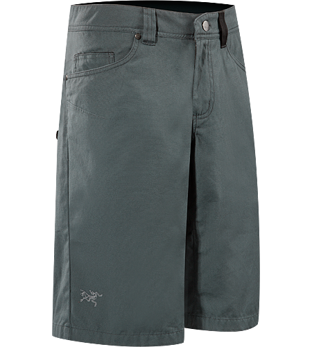 Spotter Long $^Men's^$ Tough, Cotton/Canvas shorts designed for maximum movement.