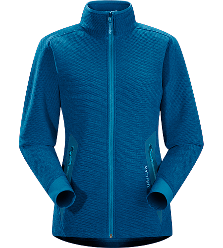Strato Jacket $^Women's^$ Moisture-wicking, breathable, mid-layer fleece jacket designed for snowsport activities