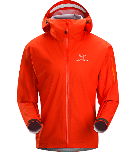 Tecto FL Jacket Men's Our lightest and most breathable waterproof GORE-TEX® rain jacket in our product line-up. Designed with a minimalist feature set; ideal for emergency wet weather protection