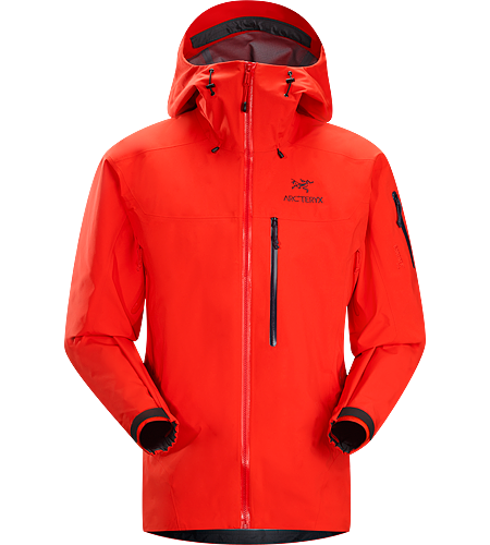 Theta SVX Jacket Men's <strong>Theta Series: All-round mountain apparel with increased coverage | SV: Severe Weather. </strong>A highly featured, severe weather condition jacket, designed for wet, stormy days. Our toughest and longest length waterproof jacket constructed with hardwearing GORE-TEX® 80D face fabric.
