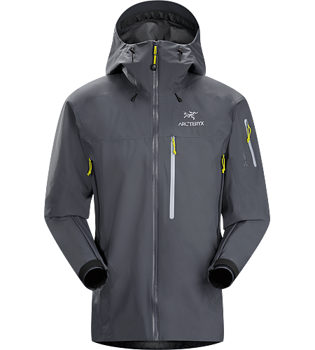 Theta SVX Jacket $^Men's^$ <strong>Theta Series: All-round mountain apparel with increased coverage | SV: Severe Weather. </strong>A highly featured, severe weather condition jacket, designed for wet, stormy days. Our toughest and longest length waterproof jacket constructed with hardwearing GORE-TEX® 80D face fabric.