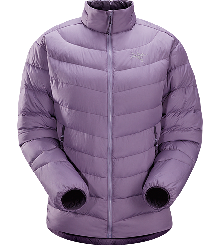 Thorium AR Jacket Women's <strong>Down Series: Down insulated garments | AR: All-Round. </strong>Generalist down jacket made from durable face fabrics and 750 fill grey goose down. Functions as a warm mid layer or standalone piece for cool, dry conditions.