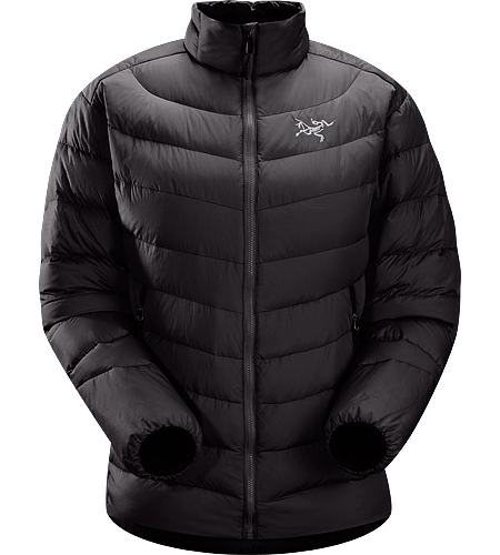 Thorium AR Jacket $^Women's^$ <strong>Down Series: Down insulated garments | AR: All-Round. </strong>Generalist down jacket made from durable face fabrics and 750 fill grey goose down. Functions as a warm mid layer or standalone piece for cool, dry conditions.