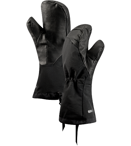 Zenta AR Mitt Men's Fully waterproof, insulated, breathable mitt with full length cuff and wrist drawcord.