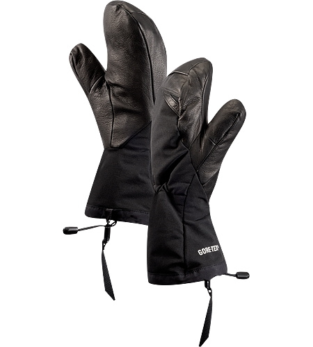 Zenta AR Mitt Women's Fully waterproof, insulated, breathable mitt with full length cuff and wrist drawcord.