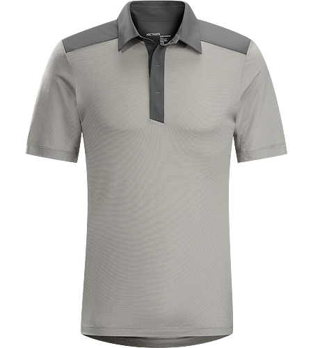 A2B Polo Shirt Men's Short sleeve polo in performance wool/polyester knit designed for everyday life and commuting