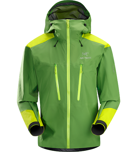 Alpha AR Jacket Men's Alpha Series: Climbing and alpine focused systems | AR: All Round. Light, hardwearing, extremely versatile GORE-TEX® Pro jacket made with a lightweight N40p-X body and burly N80p-X reinforcements.