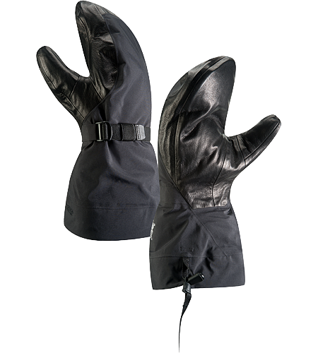 Alpha SV Mitt Men's Alpha Series: Climbing and alpine focused systems | SV: Severe Weather. Anatomically superior, advanced waterproof GORE-TEX® mitten-style glove, engineered using our new Tri-Dex™ Technology; Ideal for use in the backcountry