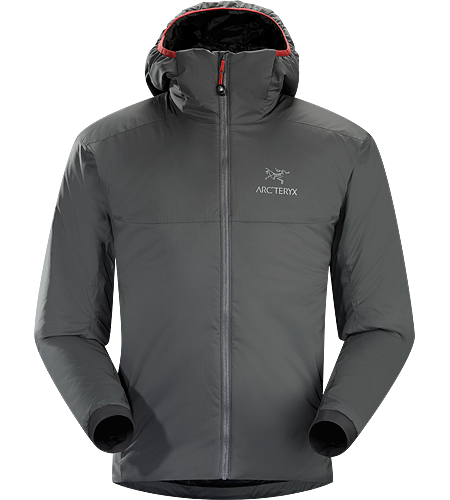 Atom AR Hoody Men's Atom Series: Synthetic insulated mid layers | AR: All-Round.This versatile Coreloft™ insulated hoody functions as an outer layer in cold, dry conditions or as a mid layer in cold, wet conditions