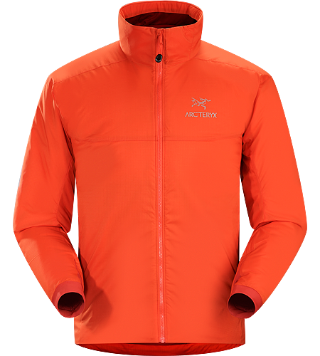 Atom AR Jacket Men's Atom Series: Synthetic insulated mid layers | AR: All-Round. Warm insulated Coreloft™ jacket; Ideal for use as a super-warm mid-layer in cold conditions, or as a stand-alone piece in warmer conditions.