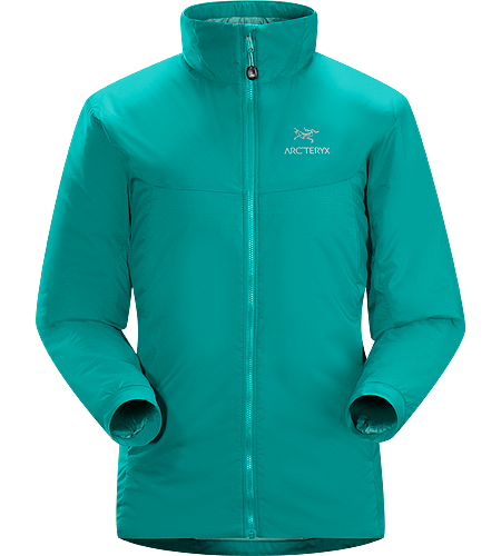 Atom AR Jacket Women's Atom Series: Synthetic insulated mid layers | AR: All-Round. Warm insulated Coreloft™ jacket; Ideal for use as a super-warm mid-layer in cold conditions, or as a stand-alone piece in warmer conditions.