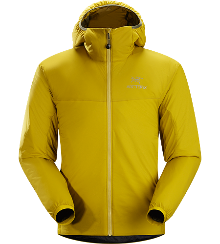 Atom LT Hoody Men's Atom Series: Synthetic insulated mid layers | LT: Lightweight. Insulated, mid-layer hoody with wind and moisture resistant outer shell; Ideal as a layering piece for cold weather activities.