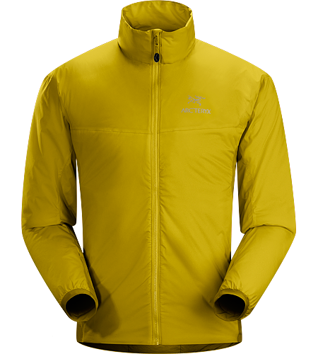 Atom LT Jacket Men's Atom Series: Synthetic insulated mid layers | LT: Lightweight. Insulated, mid-layer jacket with wind and moisture resistant outer face fabric; Ideal as a layering piece for cold weather activities.