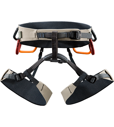 B·360a Harness Men's Comfortable, big wall climbing harness constructed using Warp Strength Technology™ in the extra wide swami and leg loops for all-day comfort during big wall climbing epics.