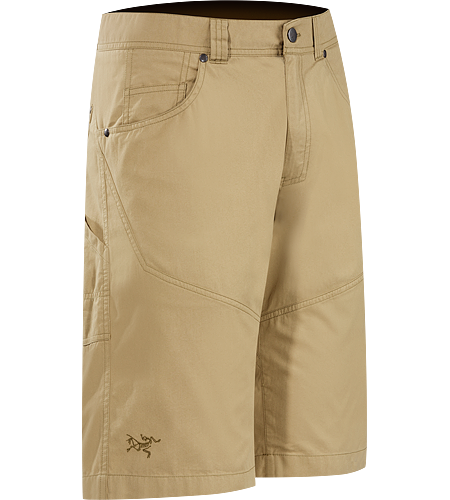 Bastion Long Men's Versatile, durable cotton/nylon canvas work short for cragging and casual wear.