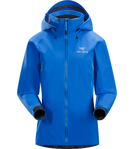 Beta AR Jacket Women's Beta Series: All-round mountain apparel | AR: All-Round. Women-specific, lightweight & packable, waterproof GORE-TEX® jacket; Hip length with a helmet compatible DropHood™.