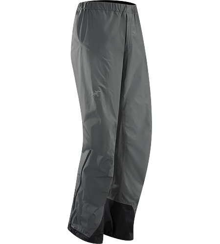 Beta SL Pant Men's Beta Series: All-round mountain apparel | SL: Super Light. Lightweight, packable, waterproof and breathable GORE-TEX® pant, designed for maximum mobility. Designed for take-along emergency use when the weather takes a turn for the worse.