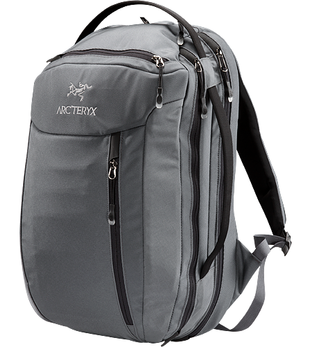 Blade 24 Backpack Mid-sized travel backpack with laptop and accessory compartments. The mid-sized Blade 24 features a small fleece lined top pocket to protect electronics and a suspended laptop compartment with a laminated easy in/out computer protector.