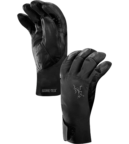 Caden Glove Men's Short, trim cuffed glove designed for big mountain skiing and snowboarding