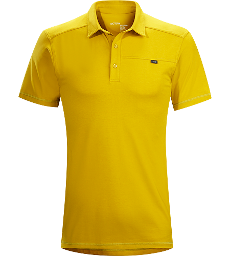 Captive Polo SS Men's Lightweight, moisture wicking DryTech™ polo shirt for active travel and uptempo urban pursuits.