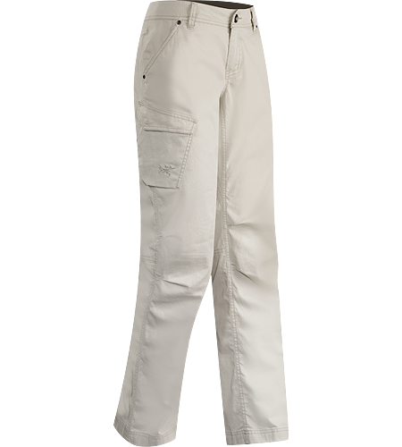 Cayley Pant Women's Versatile, trim-fitting cotton cargo pant for strolling mountain towns and city streets.