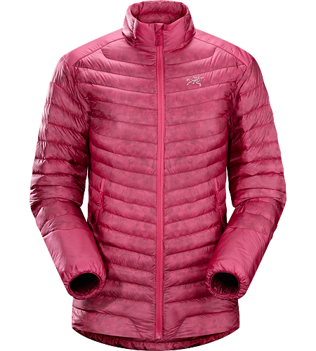 Cerium SL Jacket Women's Down Series: Down insulated garments | SL: Super Light. Offering great warmth-to-weight in a super compressible package, this is the lightest weight down jacket in the collection filled with 850 white goose down. This backcountry specialist jacket is intended primarily as a mid layer in cool, dry conditions.