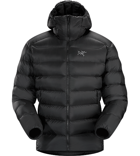 Cerium SV Hoody Men's Down Series: Down insulated garments | SV: Severe Weather. This backcountry specialist is the warmest Cerium hoody. Streamlined, lightweight down jacket filled with 850 grey goose down. This jacket is intended as a warm mid layer or standalone piece in cold, dry condtions.