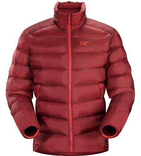 Cerium SV Jacket Men's Down Series: Down insulated garments | SV: Severe Weather. This backcountry specialist is the warmest Cerium jacket. Streamlined, lightweight down jacket filled with 850 grey goose down. This jacket is intended as a warm mid layer or standalone piece in cold, dry condtions.