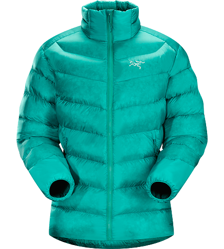 Cerium SV Jacket Women's Down Series: Down insulated garments | SV: Severe Weather. This backcountry specialist is the warmest Cerium jacket. Streamlined, lightweight down jacket filled with 850 grey goose down. This jacket is intended as a warm mid layer or standalone piece in cold, dry condtions.