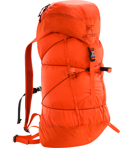 Cierzo 25 Backpack Highly compressible, super lightweight secondary summit pack pared down to the essentials only.