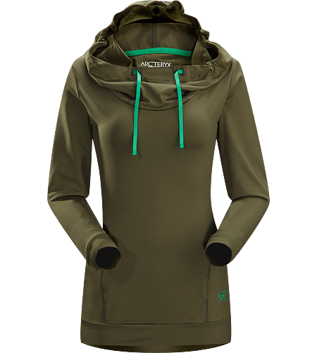 Corbela Hoody Women's Casually-styled hoody with a touch of spandex for freedom of movement