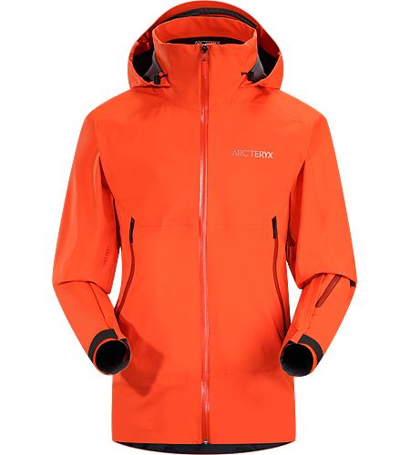 Crossbow Jacket Men's All mountain GORE-TEX® jacket for colder freeride or ski days. Two levels of backer loft add strategically placed warmth