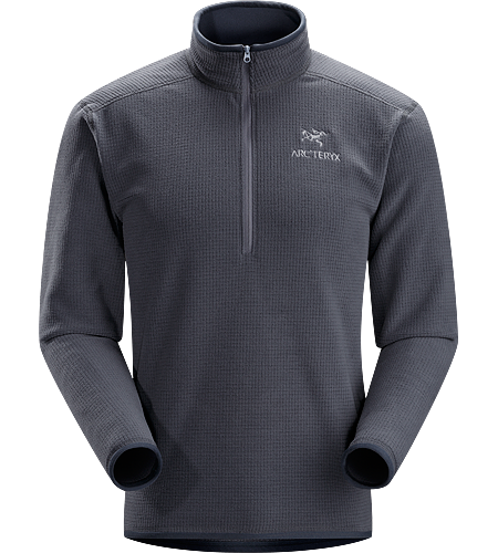 Delta AR Zip Neck Men's Delta Series: Mid layer fleece | AR: All-Round. Breathable, insulated, high-loft fleece jersey; Ideal as a layering piece