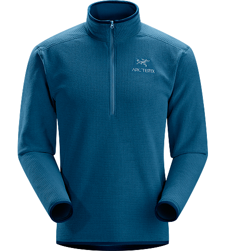 Delta AR Zip Neck Men's Delta-Modelle: Mittlere Fleece-Schicht | AR: Allround. Atmungsaktives, hochfloriges Fleece-Material – ideal für den Einsatz im Lagensystem.