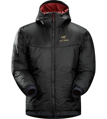 Dually Belay Parka Men's Cold weather insulated parka with dual layers of ThermaTek™ insulation stays warm even when worn over damp or wet layers