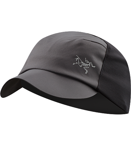 Escapa Cap A technical trucker hat made from breathable TerraTex™ nylon fabric and featuring a stretch mesh back.