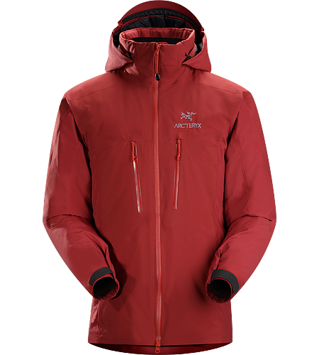 Fission SV Jacket Men's Fission Series: Insulated weatherproof outerwear | SV: Severe Weather. Waterproof, insulated jacket constructed with enhanced GORE-TEX® fabric with a softer face and Coreloft™ insulation. Our warmest, fully waterproof, synthetic insulated, all-mountain jacket.
