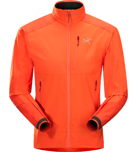 Gamma SL Hybrid Jacket Men's Gamma Series: Softshell outerwear with stretch | SL: Superlight. Lightweight, durable wind and moisture resistant jacket constructed using two weights of softshell textile for enhanced mobility and breathability.