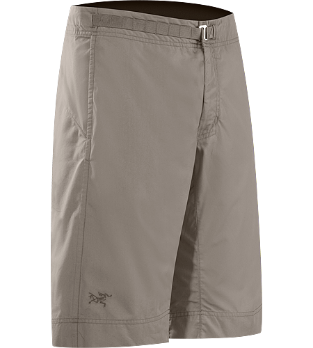Grifter Long Men's Relaxed fitting climbing-inspired long-inseam shorts with a soft yet durable cotton/nylon canvas fabric that stands up to extended use